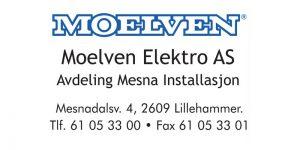 Samarbeidspartner Moelven Elektro -avdeling Mesna Elektro
